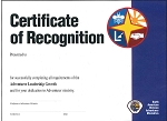 ALG - Adventurer Leadership Growth - Certificate -  RESTRICTED! Contact Lisa Gary for Approval